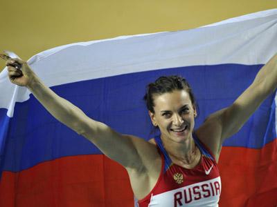 Elena Isinbayeva (Reuters / Dylan Martinez)
