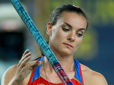Isinbayeva's form raises Olympics questions