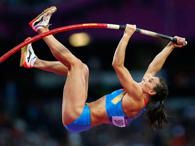 Isinbayeva misses out on London gold