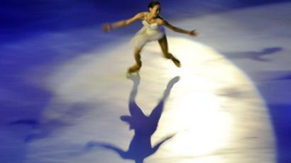 Japanese Mao Asada (AFP Photo / Boris Horvat)