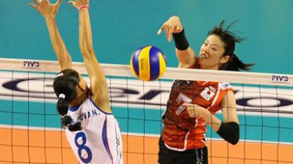Russia's record in this year's GP preliminaries is seven wins nine games (Image from www.fivb.org)