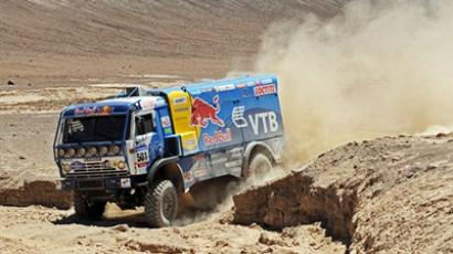 Medvedev cheers Kamaz for Dakar victory