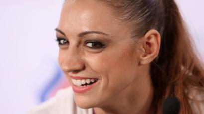 Two-time Olympic champion, Evgenia Kanaeva of Russia (RIA Novosti / Ekaterina Chesnokova)