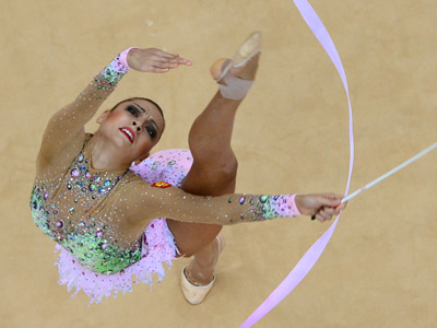 Wedding bells for gymnastics diva Kanaeva (PHOTOS)