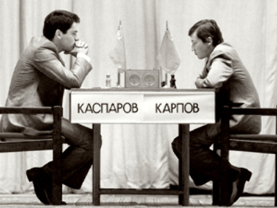 Chess legends to repeat their historic rivalry