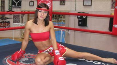 World and European Muay Thai Champion, Ekaterina Vanderieva of Belarus (Image from Ekaterina Vanderieva account at vk.com)