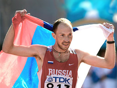 Russian walkers bag all Berlin gold