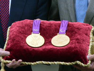 Olympic and Paralympic medals kept safe in Tower of London