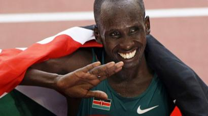 Samuel Wanjiru (AFP Photo / Getty Images)