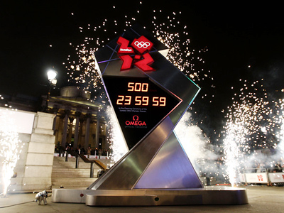 Olympic countdown begins in London