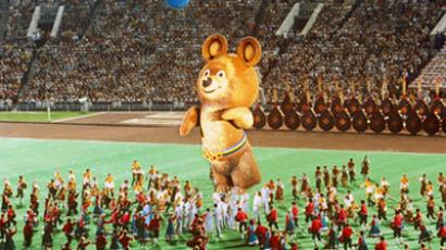 The closin ceremony of Moscow 1980 Summer Games (RIA Novosti / Sergey Guneev)