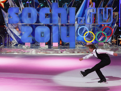 London rejects Sochi 2014 skating rink plans