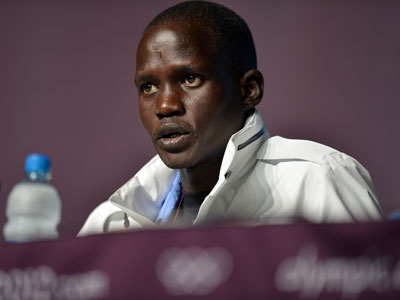 South Sudanese runs to Olympic finish after horrors of war