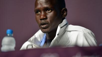Guor Marial (AFP Photo / Saeed Khan)