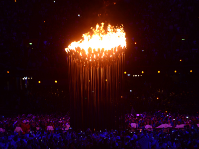 Olympic flame lit in London (PHOTOS)