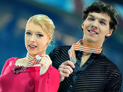 Russia takes second silver at figure skating Europeans