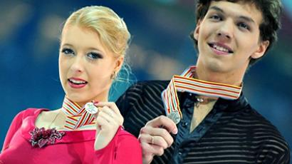 Russian figure skaters left without European medals in individual events