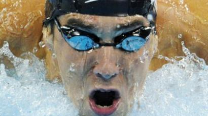 US swimmer Michael Phelps. (AFP Photo / Peter Parks)