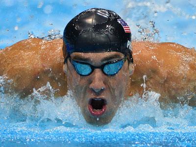 US swimmer Michael Phelps (AFP PHOTO / Fabrice Coffrini)