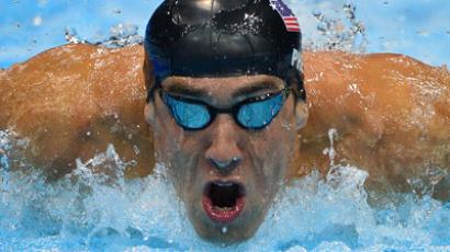US swimmer Michael Phelps (AFP PHOTO / Fabrice Coffrini)
