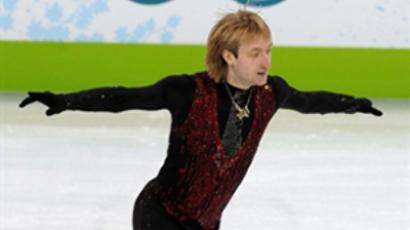Evgeny Plushenko (AFP Photo / Saeed Khan)
