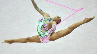 Olympic gold medalist and World Champion Evgeniya Kanaeva (RIA Novosti / Alexander Vilf)