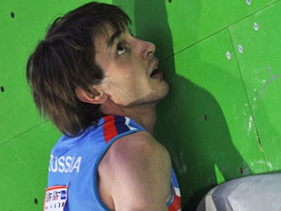 Russian climber rocks Austria event