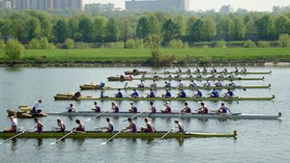 Grand Moscow Regatta at the Krylatskoye Rowing Canal (Photo from www.rowingrussia.ru)