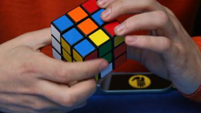 The Rubik's Cube puzzle (RIA Novosti / Valery Titievsky)