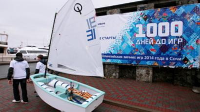 1,000 day remaining before Sochi 2014  (RIA Novosti / Vitaly Ankov)