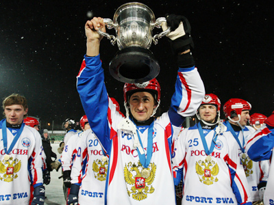 Russia claim Bandy Worlds