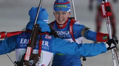 Italy push Russia into second place at biathlon World Cup relay in Oberhof