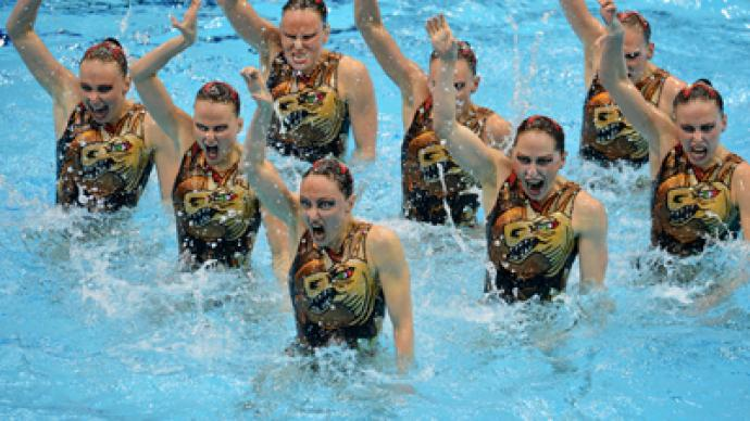 Russia Triumphs In Olympic Synchronized Swimming Rt Sport