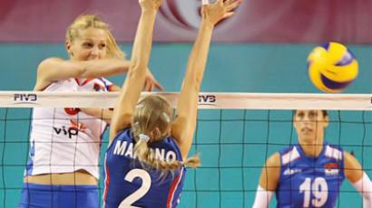 Russia finish FIVB World GP preliminaries in third place