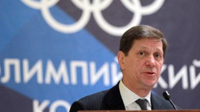 President of the Russian Olympic Committee Alexander Zhukov (RIA Novosti / Vitaliy Belousov)