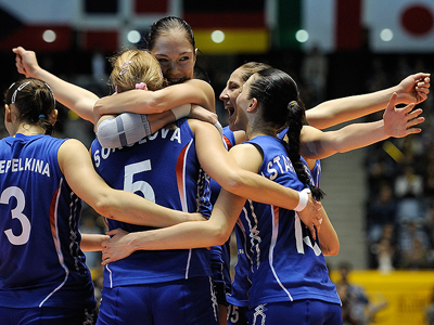 Russia reach worlds final undefeated