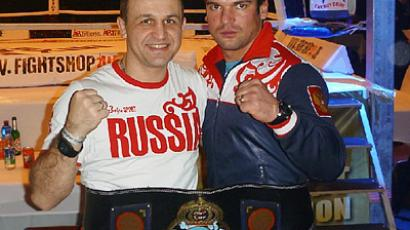 Russian hand-to-hand fighters safe bet at home World Championships