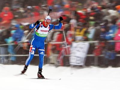 Russian keeps biathlon world cup leadership