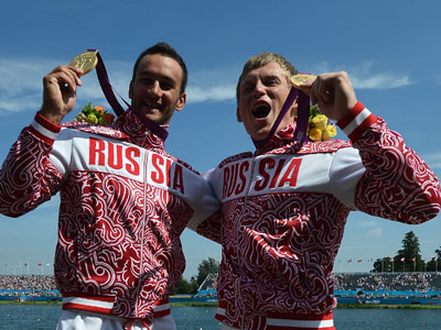 Russian kayakers fastest in Olympic sprint