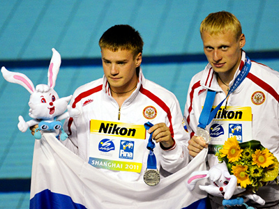 Russian divers earn silver at swimming World Champs