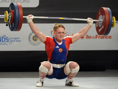 'Russian weightlifting not on dope'