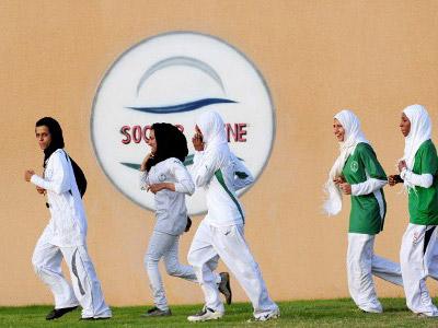 Saudi women's London 2012 prospects still in question
