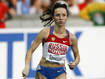 Savinova wins 800 meters at Prefontaine Classic