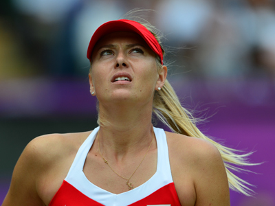 Sharapova settles for Olympic silver