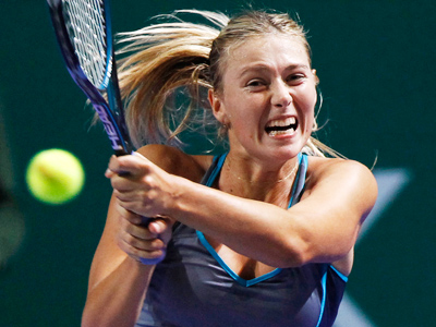 Jumping the net: Sharapova #2 in web popularity poll