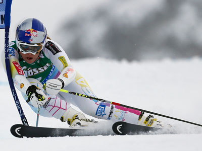 Slippery slope? Ski queen Vonn not allowed to compete with men