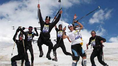 Sky Runners at Mount Elbrus (Image from mountain.ru)