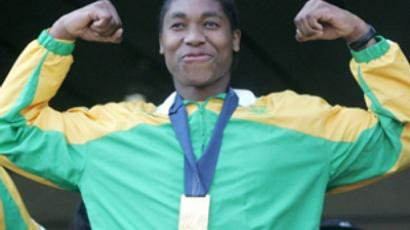 South African 18-year-old Caster Semenya (AFP Photo / Paballo Thekiso)