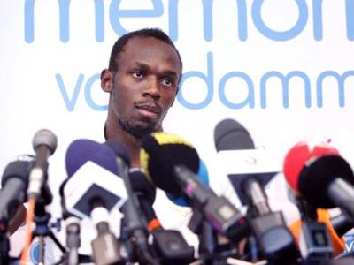 Usain Bolt (AFP Photo / Belga / Christophe Legasse )