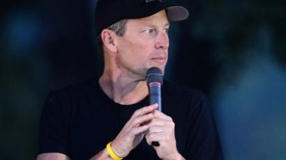 Banned US cyclist Lance Armstrong (AFP Photo / Frederic J. Brown)